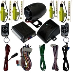 Scytek A20 Security Car Alarm Keyless with 4 Car Power Door Lock Actuator Motor