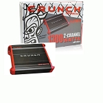 CRUNCH PZX1300.2 2-channel Powerzone Car Amplifier 1300W Peak Power