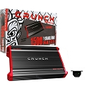 CRUNCH PZX1500.1 MonoBlock Powerzone Car Amplifier 1500W Peak Power