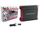 CRUNCH PZX2000.1 MonoBlock Powerzone Car Amplifier 2000W Peak Power